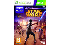WANTED star wars kinect xbox 360