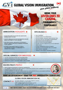 Super/ Visitor Visa Parents/ Spousal Sponsorship/LMIA. Call Us Oakville / Halton Region Toronto (GTA) image 1