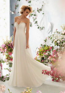 New Graceful Light Sweetheart Prom Special Occasion Formal Bride