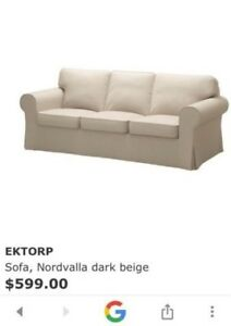 IKEA Ektorp Sofa and footstools for sale