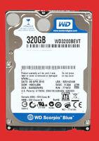 Western Digital Scorpio Blue WD3200BEVT 320GB 5400 RPM 8MB Cache