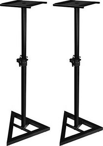 Studio Monitor Speaker Stand Support Moniteur Haut Parleur 1046