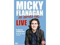 Pair of Micky Flanagan Friday Night Tickets @ Wembley Arena