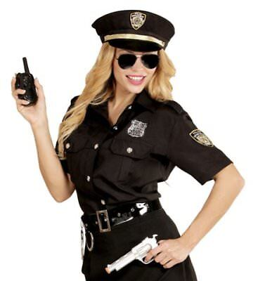 Polizistin Polizeikostüm Frauen Polizistinnenkostüm Polizei Hut Bluse Gr. XL neu ()