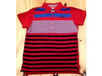 Boys French Connection polo shirt Age 8-9