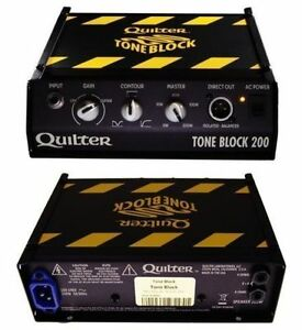 VENTE DE DEMENAGEMENT Quilter Tone Block 200 $500 tax in.