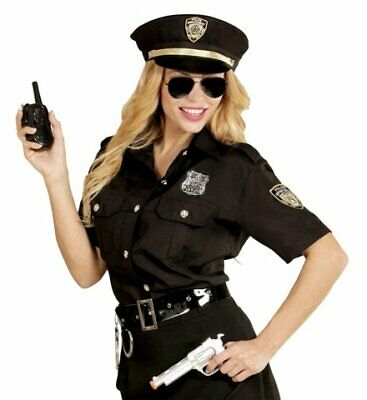 Polizistin Polizeikostüm Frauen Polizistinnenkostüm Polizei Hut Bluse M bis L