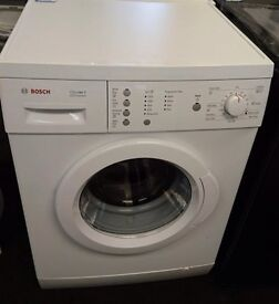 Bosch washing machine fully working can deliver and install with warranty if req very clean