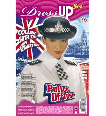 Polizistin Dress Up Set  Polizeikostüm Frauen Polizistinnenkostüm onesize neu ()