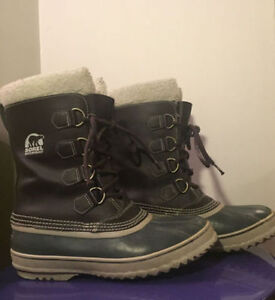 Like New Sorel Winter PAC 1964 Boots Pink Size 9