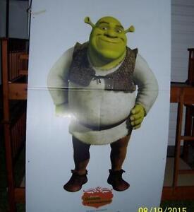 Lifesize Shrek Approx. 6 ft tall