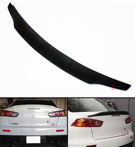 Mitsubishi Lancer evo x RS Rear Trunk Spoiler 2008 - 2015