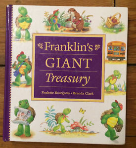 HUGE FRANKLIN TREASURY 8 books in 1 hardcover collection $10