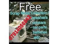 FREE SCRAP METAL COLLECTION 07914056842