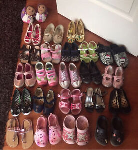 Girls Size 9 Shoe Lot - $8 each or all for $60
