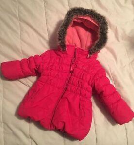 Pink Osh Kosh Winter Coat