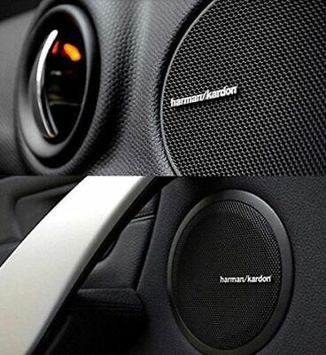 Harman Kardon Set 4 scritte Stemmi per altoparlanti auto impianto audio