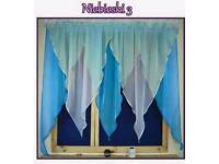 Voile curtains only £4.99 each !
