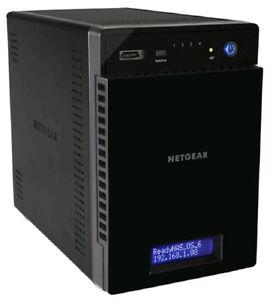 Disque dur réseau Netgear 4 bays / 2 disques 1Tb