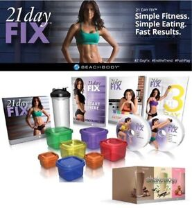 Ever wondered about the 21 DAY FIX? Loose up to 15 lbs and tone