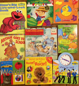 INTERACTIVE BOARD BOOKS $3 each or all 9 for $15
