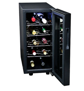 Black Koolatron 10 Bottle Wine Chiller