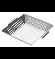 Panier a grillades en inox - Stainless BBQ grilling basket