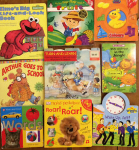 INTERACTIVE BOARD BOOKS $3 each or all 9 for $20