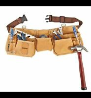 Ceinture de menuisier NEUF** NEW Leather Tool belt / apron