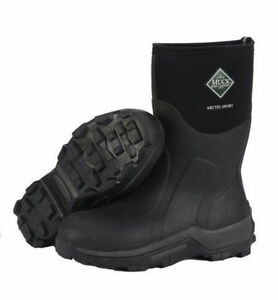 Muck Boot Arctic Sport Mid Boots Black High Performance Boots