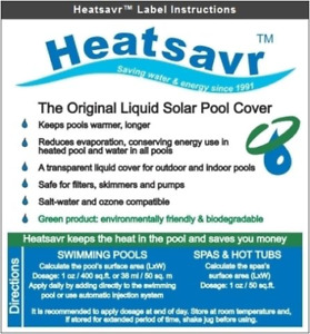 Liquid Solar Pool Cover - Generic 32 oz bottle