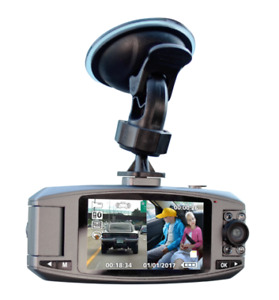 WHISTLER D2200S - DUAL CAMERA - DASH CAM - EXCELLENT FOR UBER