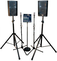 Sound Rental (Delivery and Setup included) - $79