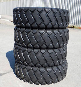 NEW SET OF 4 X 17.5X25 17.5 X 25 WHEEL LOADER TIRES