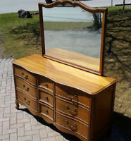 Vintage French Dresser with Mirror $350 OBO