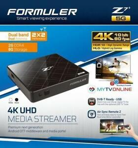 Weekly Promo! FORMULER Z7+ 5G: DUAL BAND WIFI PLUS 4K IPTV QUAD CORE 2GB DDR4