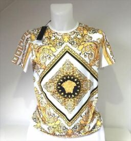 NEW VERSACE T-SHIRT - NEW WITH TAGS -NOT PRADA ARMANI GIVENCHY
