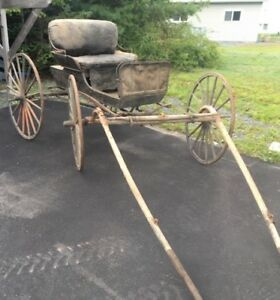 Horse wagon and sled