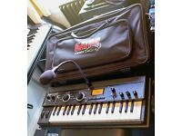SWAP - KORG Microkorg XL+ synthesizer/vocoder mint condition with Gator padded gig bag