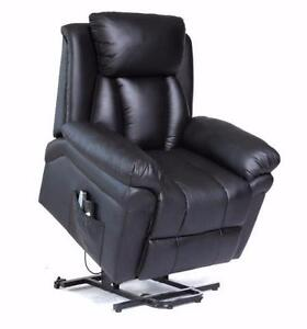 NEW POWER RECLINER MASSAGE CHAIR HEAT SWIVEL ROCKING