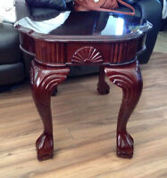 Matching set of BRAND NEW IN BOX end tables $175 or best offer