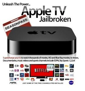 Jailbroken Apple TV 2 - Kodi, Showbox, TV Guide & more