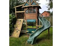 Climbing Frame - with lots of features