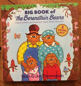 BIG BOOK OF BERENSTAIN BEARS - 5 books in 1 - $5 London Ontario image 1