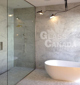 Custom Glass Shower Enclosures! Sophisticated, Trendy, Modern!