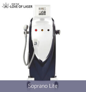LASER HAIR REMOVAL MACHINE FOR RENT | ALMA SOPRANO LASER RENTAL