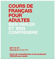 French courses for adults (February)