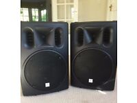 """PAIR OF THOMANN """"THE BOX"""" PA SPEAKERS"""