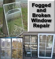 Glass repair on windows and doors (sameday)