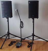 P.A. Speaker / Mic System Rental Wedding, Event, Christmas Party